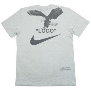 ブランド:OFF WHITE(オフホワイト) 商品名:×NIKE ナイキ TEE バックイーグルロゴ...