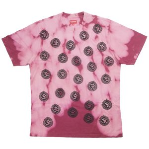 d0ea0e084185 シュプリーム SUPREME 18AW Om Tee Tシャツ ピンク Size【M】 【新古品・未使用品】