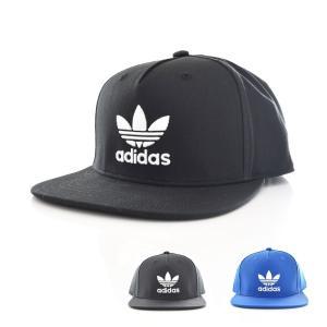 アディダス オリジナルス adidas originals キャップ 帽子 AC トレフォイル フラットキャップ メンズ レディース OG ブルー ブラック BK7319 BK7324|stay