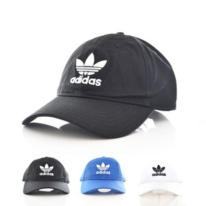 アディダス オリジナルス adidas originals キャップ 帽子 AC トレフォイル キャップ メンズ レディース ブルー ブラック ホワイト BR9720 BK7271 BK7277|stay