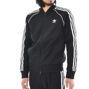 アディダス オリジナルス adidas originals ジャージ メンズ SST トラックトップ スーパースター 上 トレフォイル ジャケット ブラック 黒 CW1276|stay