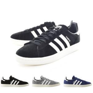 アディダス オリジナルス adidas originals スニーカー メンズ キャンパス 靴 ブラック ネイビー グレー 黒 紺 灰 BZ0084 BZ0085 BZ0086|stay