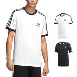 アディダス オリジナルス adidas originals Tシャツ メンズ レディース スリーストライプストレフォイル トレホイル 三つ葉 ロゴ ブランド 3STRIPES TEE DH5805|stay