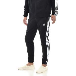 アディダス オリジナルス adidas originals ジャージ パンツ メンズ レディース ウォームアップ トラックパンツ 下 ブランド 黒 WARM UP TRACK PANTS CW1280|stay