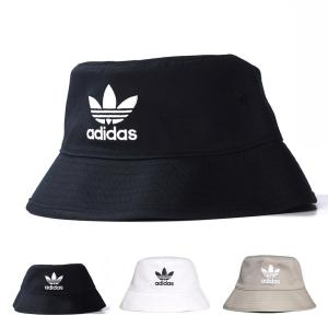 アディダス オリジナルス adidas originals 帽子 ハット バケットハットコア メンズ レディース 三つ葉 トレホイル ブラック 黒 AJ8995 FQ4641 GN4905|stay