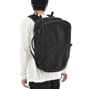 エアー Aer リュック トラベル パック 2 メンズ レディース バックパック ショルダーバッグ ビジネスバッグ ブランド ブラック 黒 Travel Pack 2 AER21007|stay