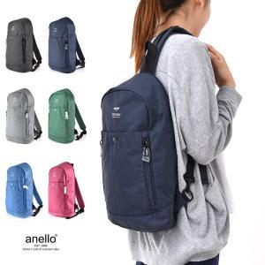 anello アネロ 杢調 ボディバッグ AT-B1717 レディースバッグ ショルダーバッグ ワンショルダー ボディーバッグ¬|stay
