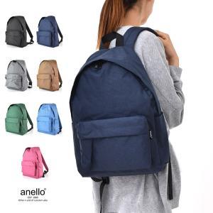 anello アネロ 杢調 10ポケットデイパック AT-C1831 レディースバッグ デイパック バックパック ママバッグ¬|stay