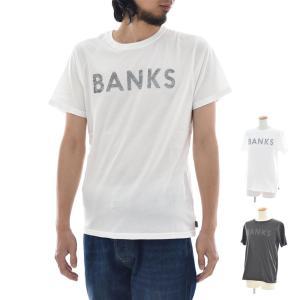 バンクス BANKS Tシャツ クラシック ロゴプリント 半袖Tシャツ ATS0200 CLASSIC[M便 1/1] メンズ サーフィン サーファー アメカジ|stay