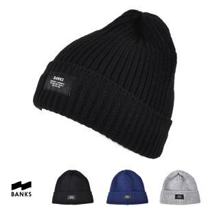 バンクス BANKS 帽子 MARK マーク ニットキャップ BE0015 ビーニー メンズ サーフィン サーファー|stay