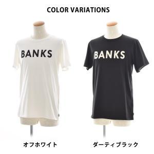 バンクス BANKS Tシャツ クラシック 半袖 Tシャツ TEE オーガニックコットン ロゴ 白 黒 オフホワイト ATS0233 ATS0261 メンズ サーフィン サーファー アメカジ|stay|02
