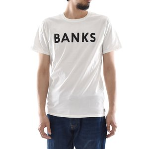 バンクス BANKS Tシャツ クラシック 半袖 Tシャツ TEE オーガニックコットン ロゴ 白 黒 オフホワイト ATS0233 ATS0261 メンズ サーフィン サーファー アメカジ|stay|03