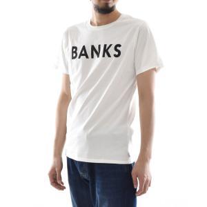 バンクス BANKS Tシャツ クラシック 半袖 Tシャツ TEE オーガニックコットン ロゴ 白 黒 オフホワイト ATS0233 ATS0261 メンズ サーフィン サーファー アメカジ|stay|04