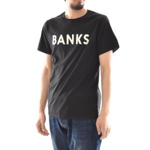 バンクス BANKS Tシャツ クラシック 半袖 Tシャツ TEE オーガニックコットン ロゴ 白 黒 オフホワイト ATS0233 ATS0261 メンズ サーフィン サーファー アメカジ|stay|08