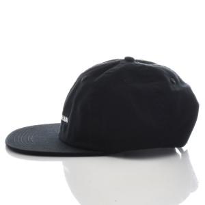 バンクス BANKS キャップ 帽子 LABEL HAT メンズ 6パネル ベースボールキャップ スナップバック ブランド ブラック 黒 HA0071 サーフィン サーファー アメカジ|stay|02