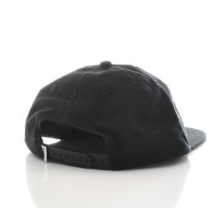 バンクス BANKS キャップ 帽子 LABEL HAT メンズ 6パネル ベースボールキャップ スナップバック ブランド ブラック 黒 HA0071 サーフィン サーファー アメカジ|stay|03