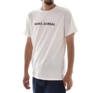 バンクス BANKS Tシャツ ロゴプリント ジャーナル BANKS JOURNAL メンズ 半袖Tシャツ 白 黒 オフホワイト LABEL TEE ATS0252 サーフィン サーファー アメカジ|stay|03