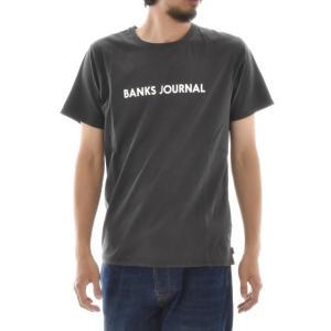 バンクス BANKS Tシャツ ロゴプリント ジャーナル BANKS JOURNAL メンズ 半袖Tシャツ 白 黒 オフホワイト LABEL TEE ATS0252 サーフィン サーファー アメカジ|stay|06