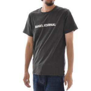 バンクス BANKS Tシャツ ロゴプリント ジャーナル BANKS JOURNAL メンズ 半袖Tシャツ 白 黒 オフホワイト LABEL TEE ATS0252 サーフィン サーファー アメカジ|stay|07
