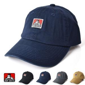 ベンデイビス BEN DAVIS キャップ 帽子 ベンズ マーク ローキャップ BDW-9433B メンズ レディース stay