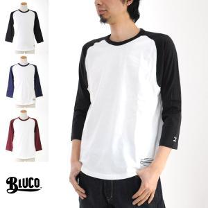 ブルコ BLUCO Tシャツ ラグラン 3/4 スリーブ Tシャツ OL-703[M便 1/1]|stay