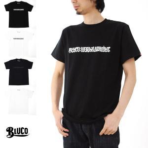 ブルコ BLUCO Tシャツ 10周年記念 USUGROW 薄黒 コラボ Tシャツ OL-721[M便 1/1]|stay