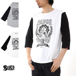 ブルコ BLUCO Tシャツ 10周年記念 7STARS DESIGN セブンスターズ デザイン コラボ ベースボ−ル Tシャツ OL-720[M便 1/1]|stay