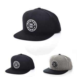 ブリクストン Brixton キャップ メンズ レディース 帽子 ハット ベースボール 6パネル アメカジ ブランド スナップバック ブラック 黒 オース 3 OATH CAP 00173|stay