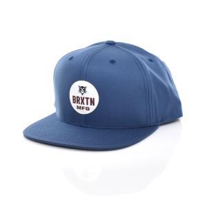 ブリクストン Brixton キャップ ベースボールキャップ メンズ レディース パンサー スナップバック 帽子 ブランド ネイビー 紺色 PANTHER MP SNAPBACK CAP 1116|stay
