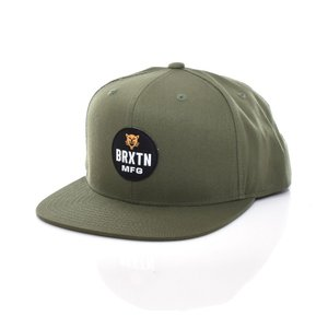 ブリクストン Brixton キャップ ベースボールキャップ メンズ レディース パンサー スナップバック 帽子 ブランド オリーブ olive PANTHER MP SNAPBACK CAP 1116|stay