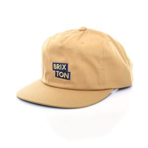 ブリクストン Brixton キャップ ベースボールキャップ メンズ レディース チーム スナップバック 帽子 ブランド コッパー マスタード TEAM MP SNAPBACK CAP 1107|stay