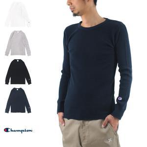 チャンピオン Champion Tシャツ サーマル ロングスリーブTシャツ C3-E430 長袖Tシャツ[M便 1/1] メンズ|stay