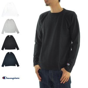 チャンピオン Champion ロンT Tシャツ T1011 MADE IN USA ラグラン 長袖Tシャツ 無地 クルーネック アメカジ アメリカ製 米綿 C5-Y401 アメカジ|stay