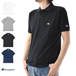 チャンピオン Champion Tシャツ ベーシック ポロシャツ C3-F356 メンズ|stay