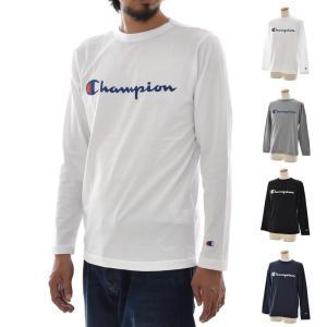 チャンピオン Champion Tシャツ メンズ レディース ベーシック ロゴ ロングスリーブTシャツ 長袖Tシャツ ロンT ティーシャツ ブランド 90年代 C3-J426|stay