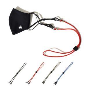 チャムス CHUMS ストラップ ロープ マルチ ユーズ ストラップ コード フック ヒモ 紐 顎紐 マスクストラップ アウトドア USA Rope Multi Use Strap CH61-1111|stay