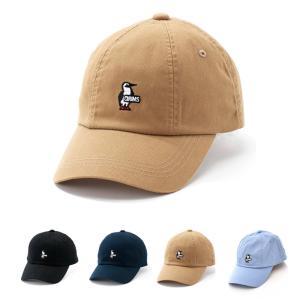 チャムス CHUMS キャップ ブービーパイロットキャップ メンズ レディース ロゴ 帽子 ローキャップ カーブドバイザー 6パネル ブランド CH05-1236|stay