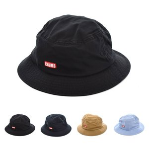 チャムス CHUMS ハット バケットハット メンズ レディース ロゴ ボートロゴ 帽子 ブランド アウトドア ストリート ブラック 黒 ネイビー ベージュ 白 CH05-1262|stay