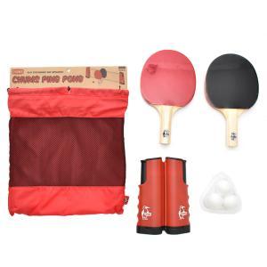 チャムス CHUMS テーブルゲーム チャムス ピンポン 卓球 セット テーブルテニス ネット ラケット ボール 収納袋付き ブランド アウトドア キャンプ CH62-1662|stay