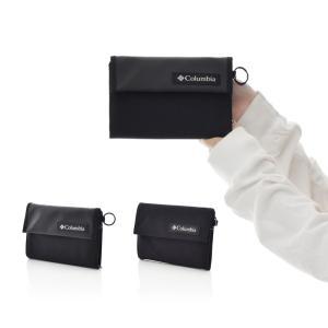コロンビア Columbia 財布 スターレンジウォレット メンズ レディース 三つ折り 二つ折り コンパクト PU2197 アウトドア 撥水 オムニシールド ブラック 黒|stay