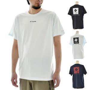 コロンビア Columbia Tシャツ ローヤルクリーク ショートスリーブTシャツ 速乾Tシャツ バックプリント メンズ ブランド Royal Creek Short Sleeve Tee PM1864|stay