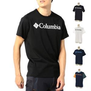 コロンビア Columbia Tシャツ アーバンハイク メンズ 半袖 TEE ブランド アウトドア フェス スポーツ ブランド Urban Hike 吸水速乾 UVカット ロゴ PM1877|stay