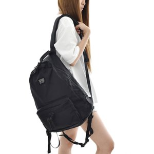 FREDRIK PACKERS 聖林公司別注 ブラックタグ 420D デイパック ブラックジッパー 700065354 オールブラック メンズ|stay