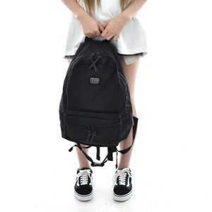 FREDRIK PACKERS 聖林公司別注 ブラックタグ 420D デイパック ブラックジッパー 700065354 オールブラック メンズ|stay|06