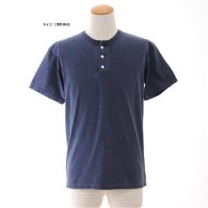 (グッドオン) Good On Tシャツ ヘンリーネック 半袖Tシャツ GOST1102C GOST1102P[M便 1/1]|stay|05