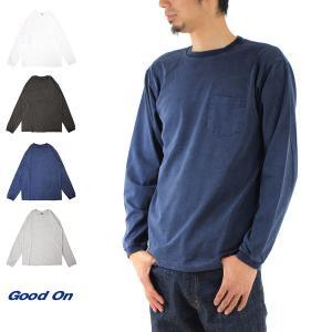 Good On ロングスリーブTシャツ ポケット付き GOLT-1306C GOLT-1306PL[M便 1/1]|stay