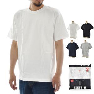 Hanes ヘインズ Tシャツ 2枚組 ビーフィー H5180-2|stay