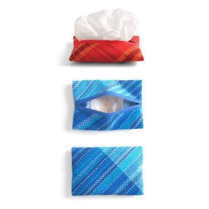 <メール便対応>Hiyuca(ヒユカ)×こころ・さをり さをり織り ポケットティッシュケース 小物 雑貨 メンズ レディース 復興デパートメント[M便 1/3]|stay|02