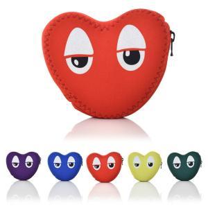 ヒユカ Hiyuca HEART-SAMA ハートさま ポーチ 小物入れ ケース ハート型 レディース メンズ キッズ ブランド かわいい メンバーカラー プレゼント LOVE 日本製 stay