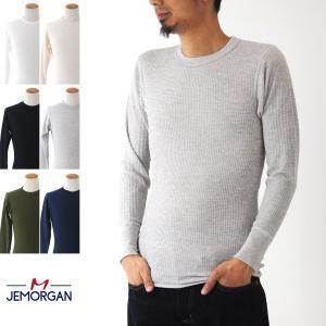 JEMORGAN ジェーイーモーガン ジェーモーガン Tシャツ 長袖 クルーネック サーマル パックTシャツ J5009-526 LONG LOHN ロングジョン[M便 1/1]|stay